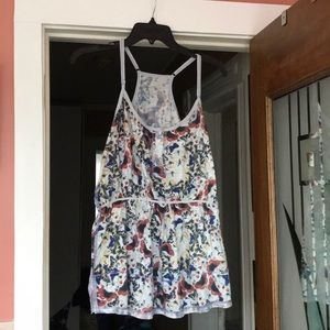 Free People butterfly reversible tank